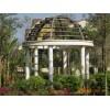 钢结构异型中央景观亭子